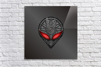 Altered Carbon Red Eye Reactor  Acrylic Print