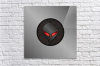 Altered Carbon Red Eye Demon  Acrylic Print