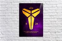 Kobe Bryant Tribute  Acrylic Print