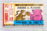 1987 Alabama vs. Auburn   Acrylic Print