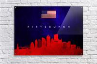 Pittsburgh Pennsylvania  Acrylic Print