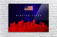 Winston Salem North Carolina  Acrylic Print