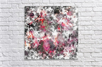 Frosty pink  Impression acrylique