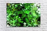 Green deflected  Acrylic Print