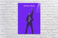 broken wings   Myles Kennedy   alter bridge  Acrylic Print