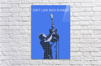 Dont Look Back In Anger   Noel Gallagher  Acrylic Print