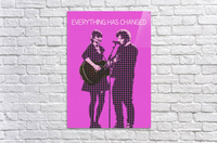 Everything Has Changed   Taylor Swift and Ed Sheeran   Acrylic Print