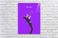 Fix You   Chris Martin  Acrylic Print