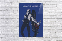 mind your manners   Slash ft Myles Kennedy The Conspirators  Acrylic Print