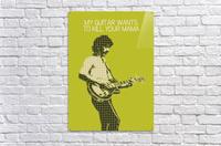 My Guitar Wants To Kill Your Mama   Frank Zappa  Acrylic Print