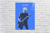 My Babe   Keith Richards  Acrylic Print