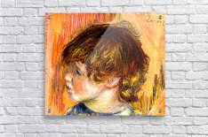 Head of a young girl  Acrylic Print