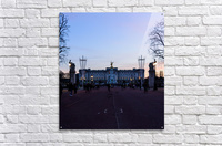 Dusk at Buckingham Palace London  Acrylic Print