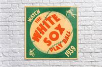 1939 Chicago White Sox Art  Acrylic Print