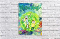Rick and morty_   Acrylic Print