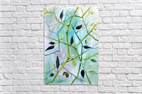 Realm of Greenery Foliage  Acrylic Print