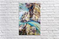 Rocky Mountains Crystel River Colorado  Acrylic Print