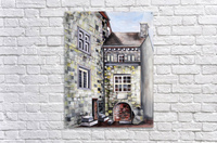 Liege Castle French Provenance   Acrylic Print