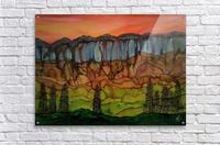 Weeping Cliffs  Acrylic Print