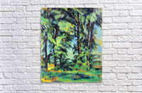 High trees in the Jas de Bouffan by Cezanne  Acrylic Print