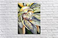 Artdeco Structural Flower Petals  Acrylic Print