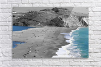 2 Bodies 1 Beach  Acrylic Print