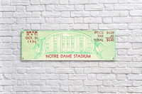 notre dame football fathers day gifts  Acrylic Print