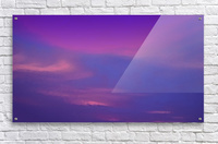 SkySmudges2  Acrylic Print