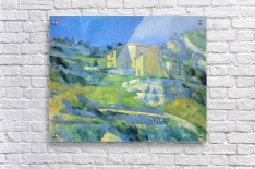 House in the Provence by Cezanne  Acrylic Print