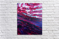 Red and purple sunset  Acrylic Print
