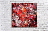 The red sea foam  Acrylic Print