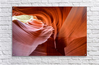 Interior of Antiloppe canyon page Arizona USA  Acrylic Print