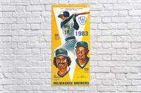 milwaukee brewers 1983  Acrylic Print