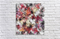 Thermal fractures  Acrylic Print