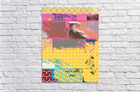 paint and paper board  Acrylic Print