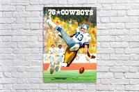 1976 Dallas Cowboys Art  Acrylic Print