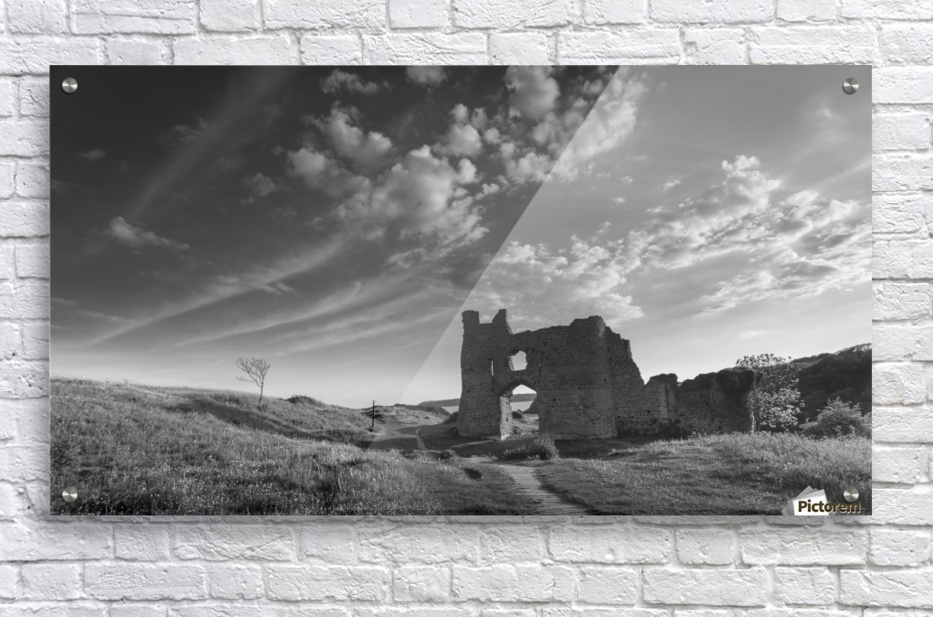 Pennard castle Gower  Acrylic Print