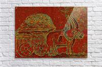 Oxen  Acrylic Print