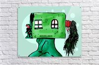 House Man   Acrylic Print