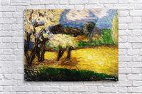 Yellow Summer Fields  Acrylic Print