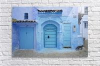 Chefchaouen Medina Morocco  Acrylic Print