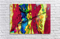 Flute Electrified  Acrylic Print