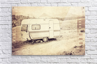 vintage travel trailer  Acrylic Print