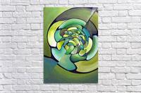 Artdeco Twisted Pattern   Acrylic Print