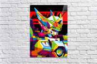 Wings Gundam Zero Pop Art  Acrylic Print