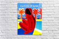 Cote D Azur  Acrylic Print