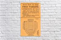 vintage college football stadium map art byrd stadium college park md  Acrylic Print