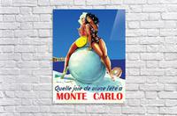 Monte carlo  Acrylic Print