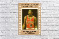 1984 USA Olympic Basketball Michael Jordan  Acrylic Print