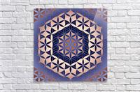 Flower of Life Mandala Pattern  Acrylic Print